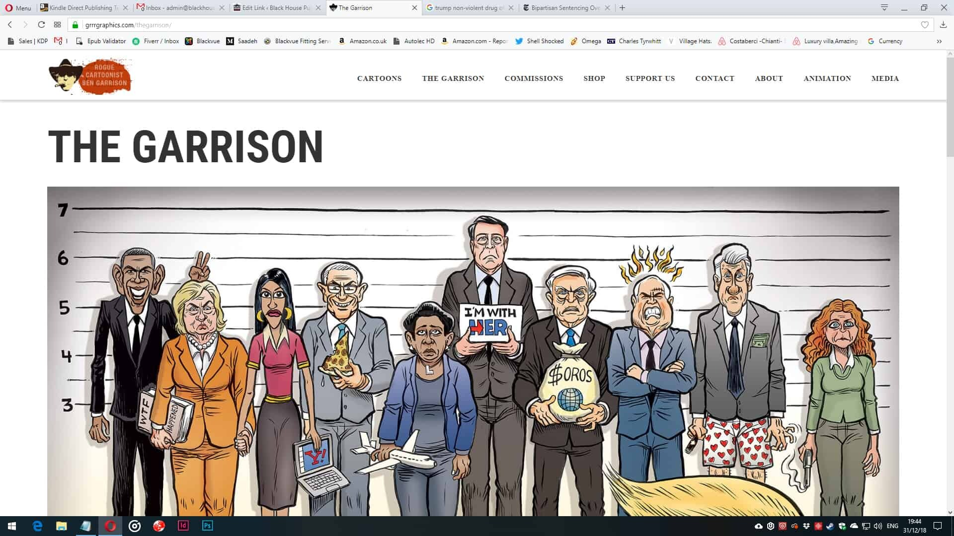 Ben Garrison Cartoons